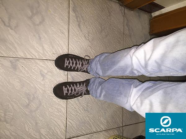 SCARPA Magarita GTX 户外休闲鞋 开箱 (24)