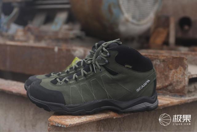 穿上出发Scarpa莫林加强版防水徒步鞋-2