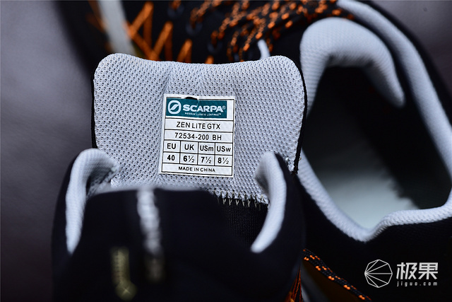舒适行走思卡帕Zen禅轻量GTX防水透气户外徒步登山鞋-18