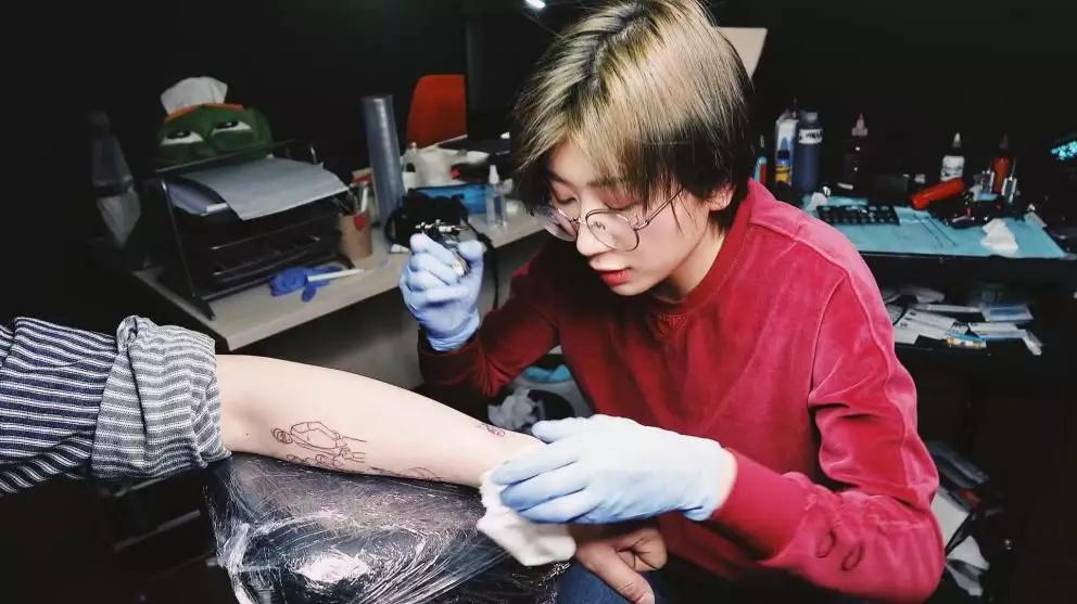 酷且有趣的人,内心自有广阔天地FX OUTDOOR X Daning tattoo studio-4