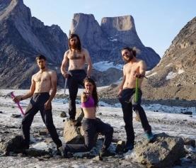 远征巴芬岛 日不落的攀岩体验