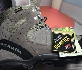 记我的第一双SCARPA鞋:SCARPA Kailash GTX 徒步鞋